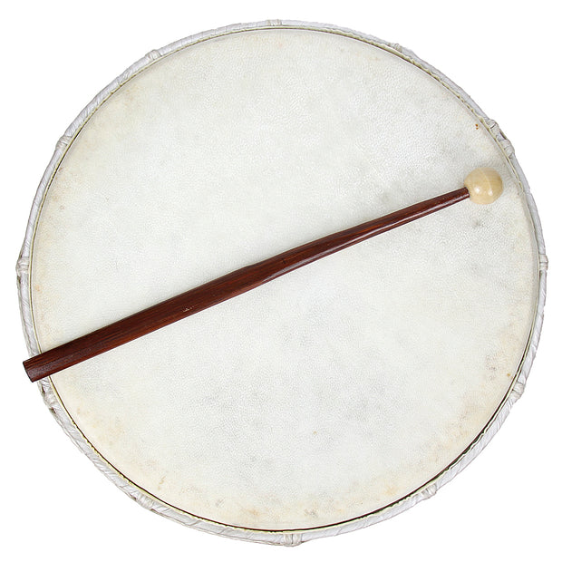 Ceremonial Black Hoop Drum