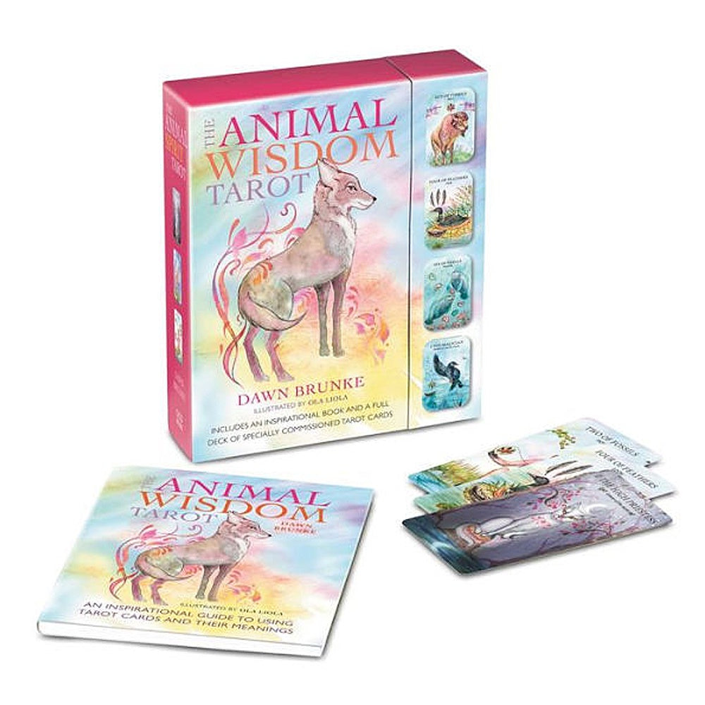 Animal Wisdom Tarot Deck & Guidebook