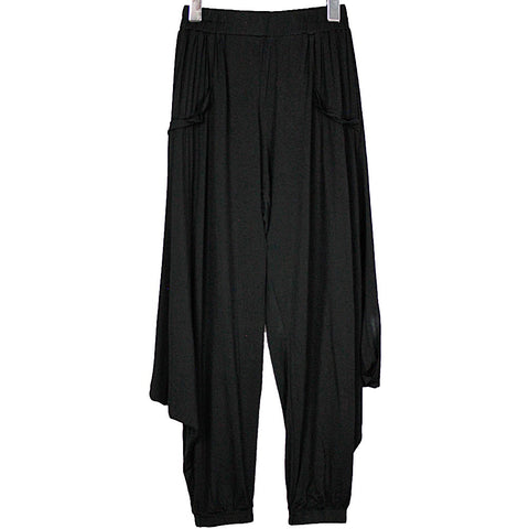 Black Bamboo Long Pocket Over-Top