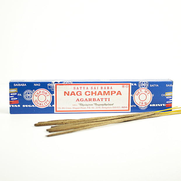 Satya Sai Baba Nag Champa Incense Sticks 15gr