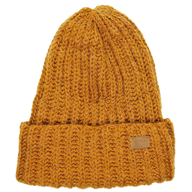 Honey Yellow Soho Cuff Hat