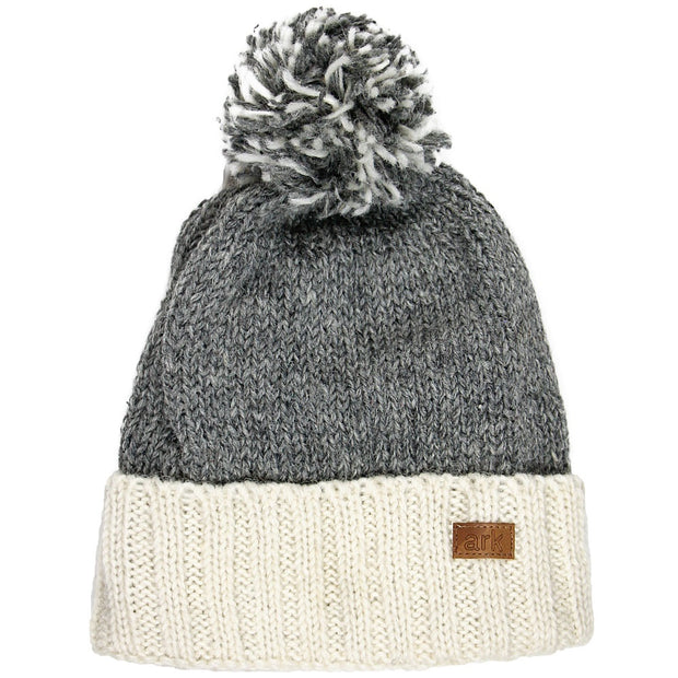 Grey Collingwood Cuff Hat