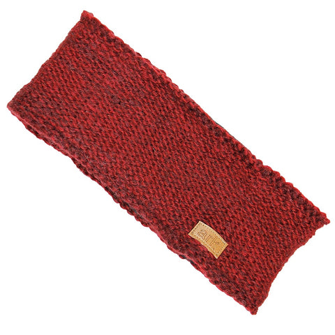 Burgundy Parkdale Head Band