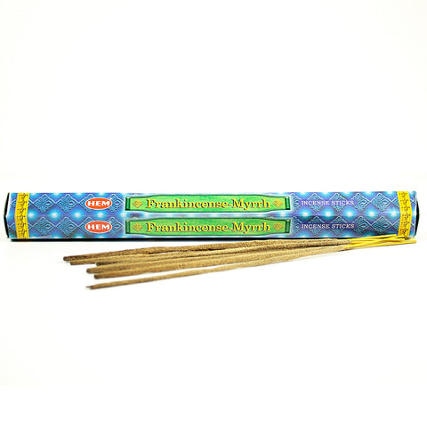 HEM Frankincense & Myrrh Incense