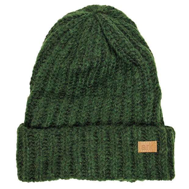 Forest Green Soho Cuff Hat