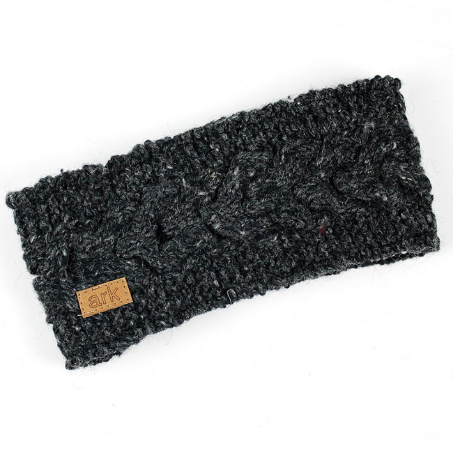 Charcoal Helix Head Band