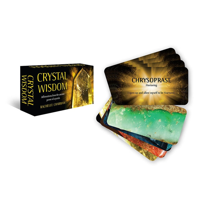 Crystal Wisdom Inspiration Cards: Affirmations From the Ancient Power of Crystals
