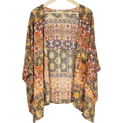 Distressed Barn Wood Blessed Kimono