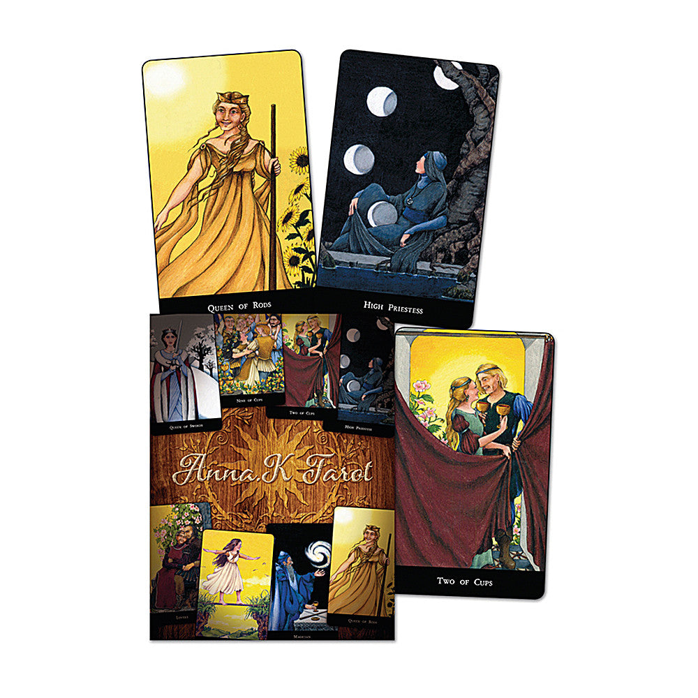 Anna K Tarot Deck & Book Set