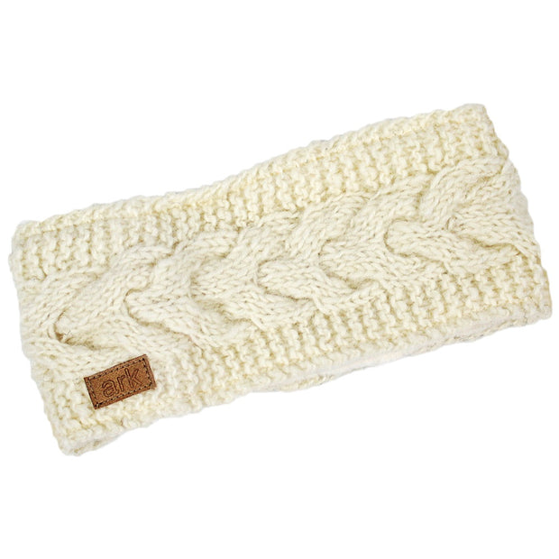 White Helix Head Band
