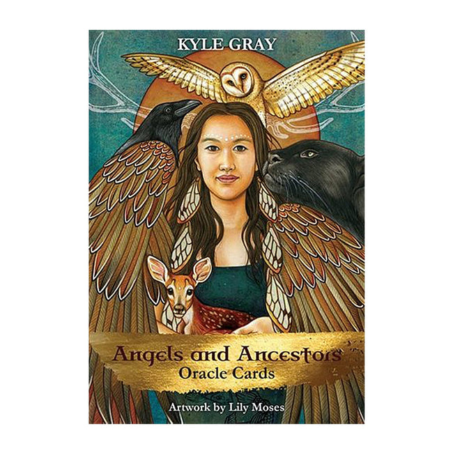 Angels and Ancestors Oracle Cards: A 55 Card Deck & Guidebook
