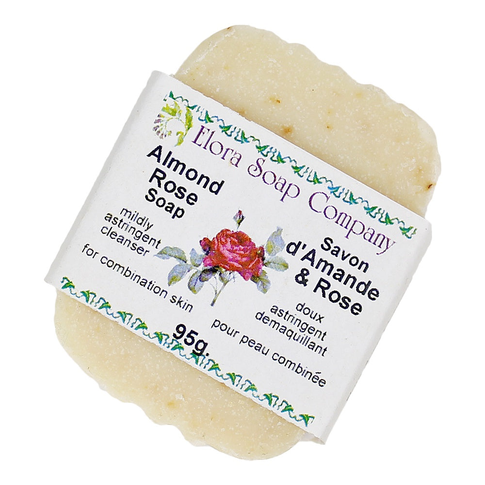 Almond Rose Herbal Soap