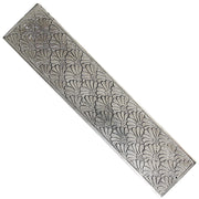 White Metal Chakra Incense Holder 11""