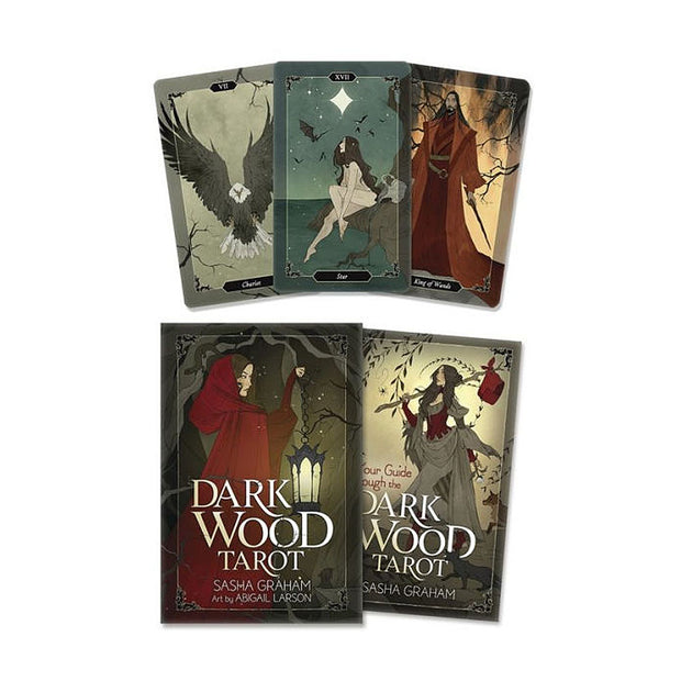 Dark Wood Tarot: 78 Card & Guidebook