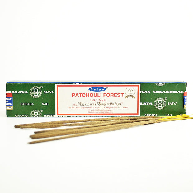 Satya Patchouli Forest Incense Sticks 15gr