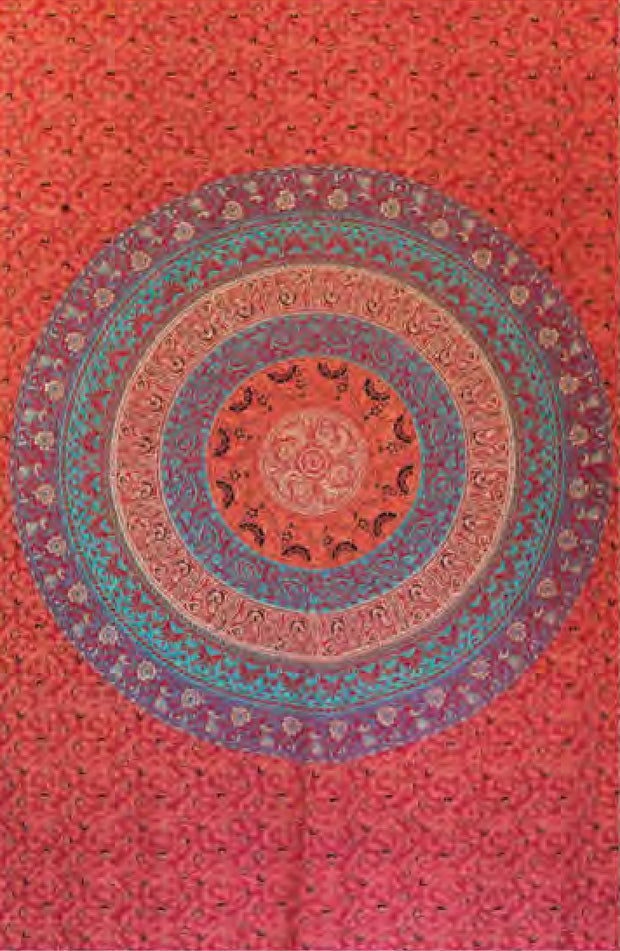 Mandala Cotton Bed Sheet