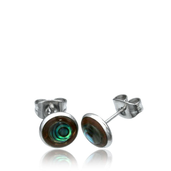 Abalone & Coco Shell Ear Stud