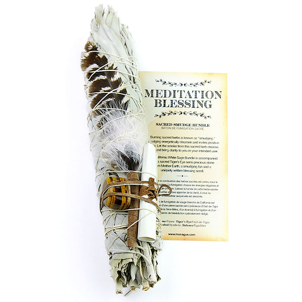 Meditation Blessings Sacred Smudge Bundle