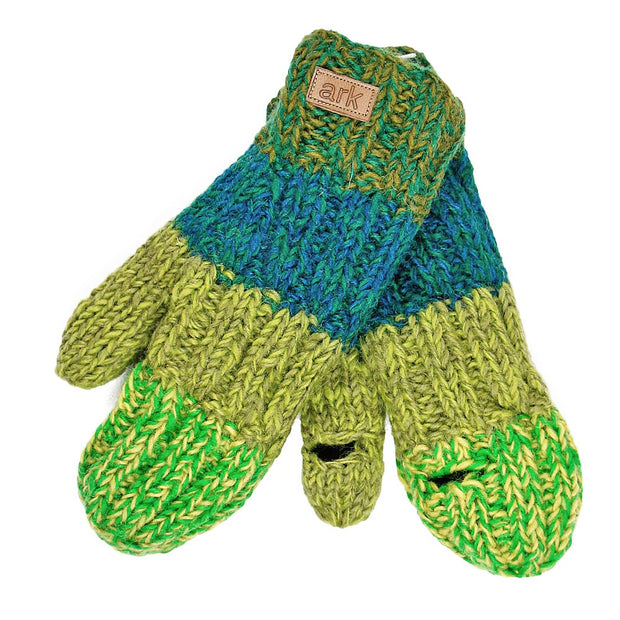 Green Kensington Texting Mittens