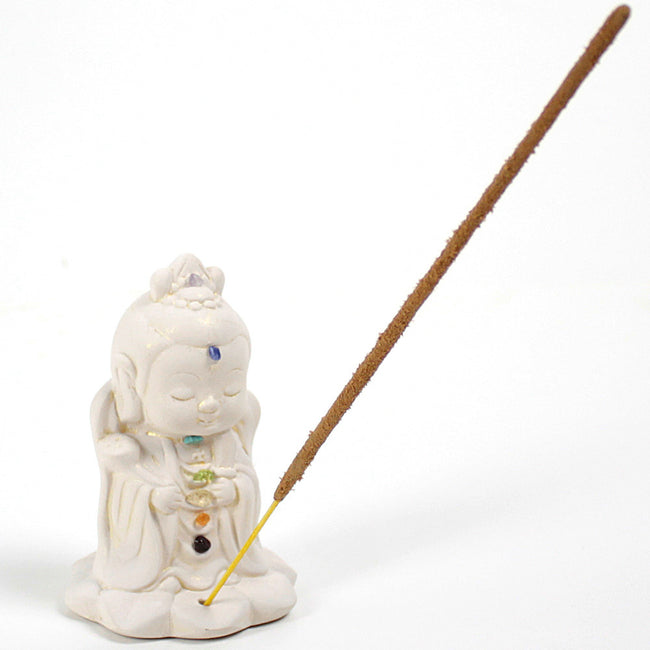 Kwan Yin Chakra Incense Holder