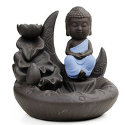 Zisha Buddha Backflow Incense Holder