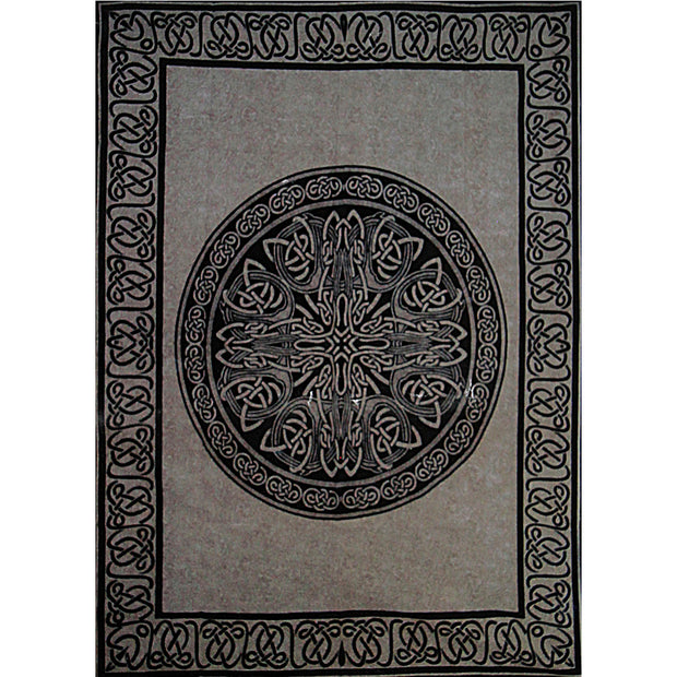 Celtic Knot Cotton Bed Sheet