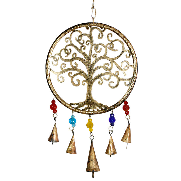 Tree of Life Iron Bell Chimes