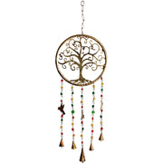 Tree of Life & Hummingbirds Iron Bell Chimes