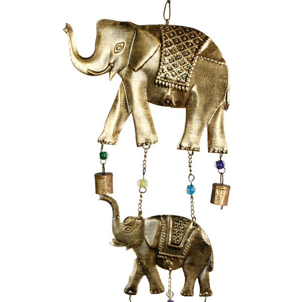 Elephants Iron Bell Chimes