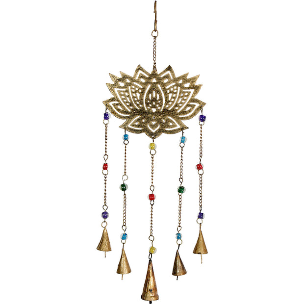 Lotus Iron Bell Chimes