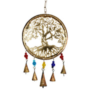 Tree of Life Celtic Iron Bell Chimes