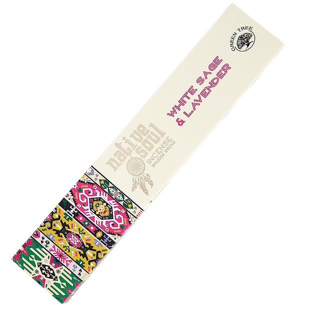 Native Soul White Sage & Lavender Incense 15gr