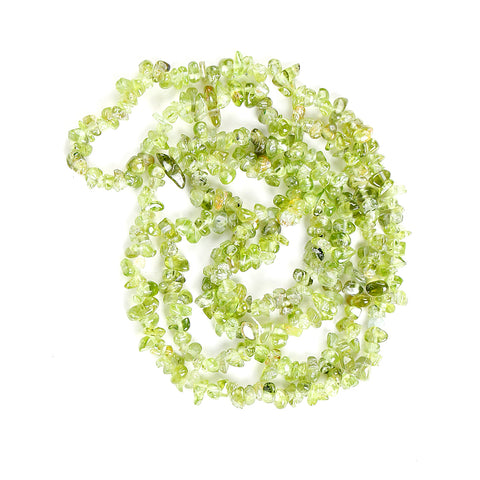 Compassion Peridot Chip Necklace 36""