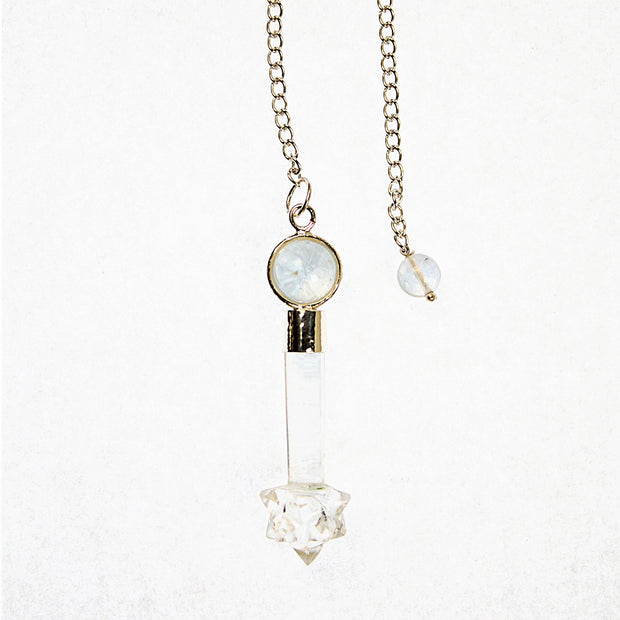 Fairy Star Quartz Pendulum