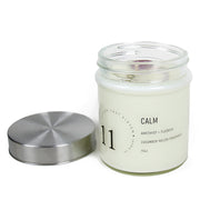 Calm Crystal Charged Candle 11oz