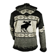Natural Moose Unisex Wool Sweater