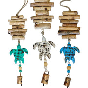Sea Turtle Vintage Driftwood Bell Chimes