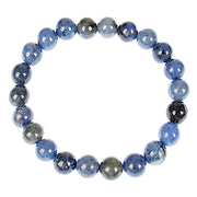 Patience Dumortierite 8mm Power Bracelet