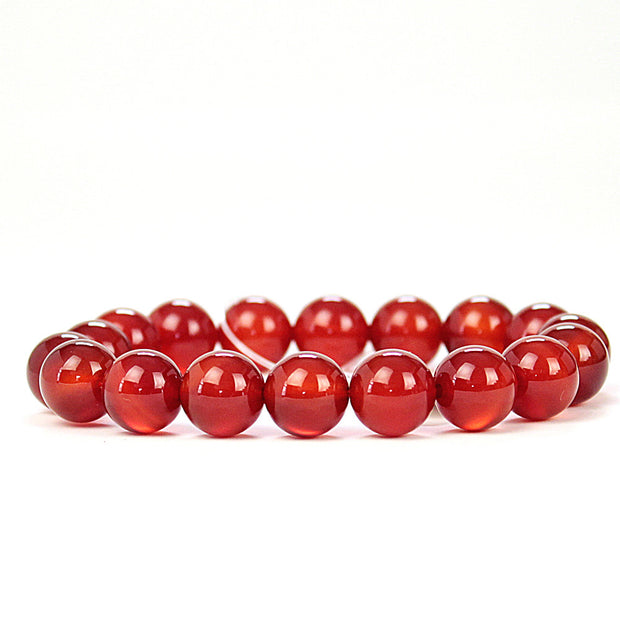 Motivation Carnelian 8mm Power Bracelet