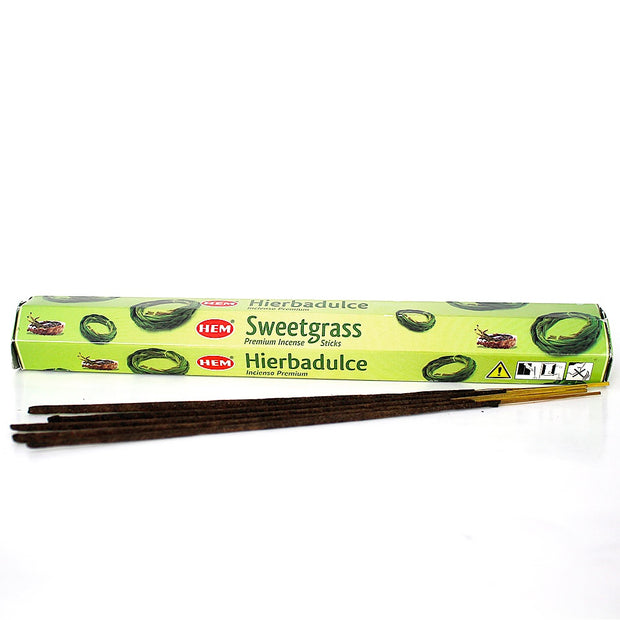 HEM Sweetgrass Incense Sticks 20gr