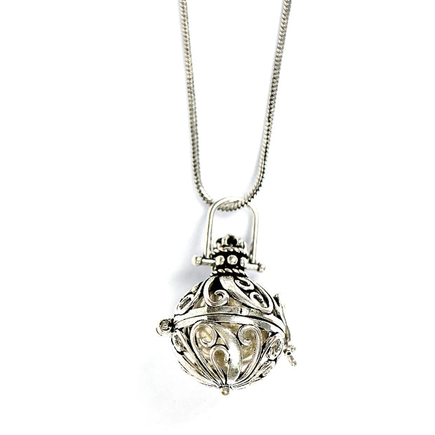 Harmony Ball Locket Necklace