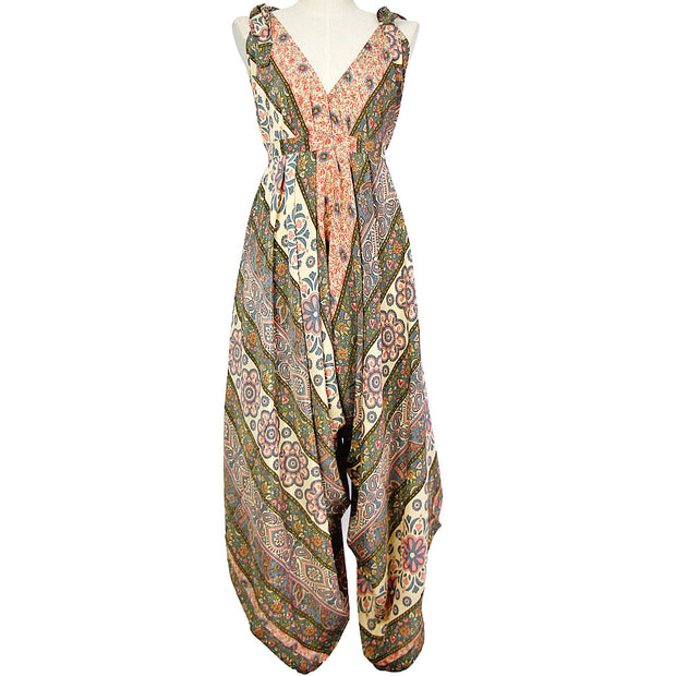 Rose Sari In-Gadda-Da-Vidda Jumpsuit