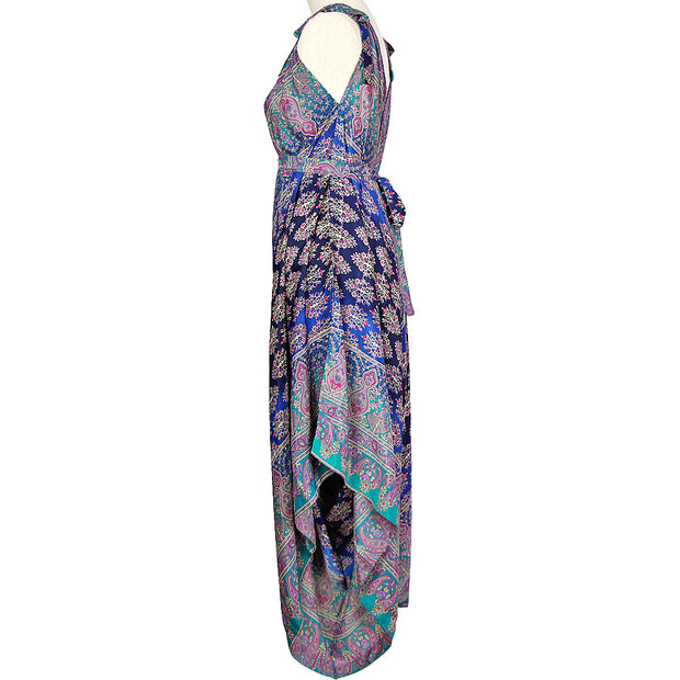 Purple Sari In-Gadda-Da-Vidda Jumpsuit