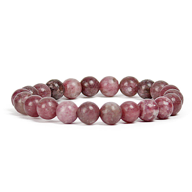 Calming Lepidolite 8mm Power Bracelet