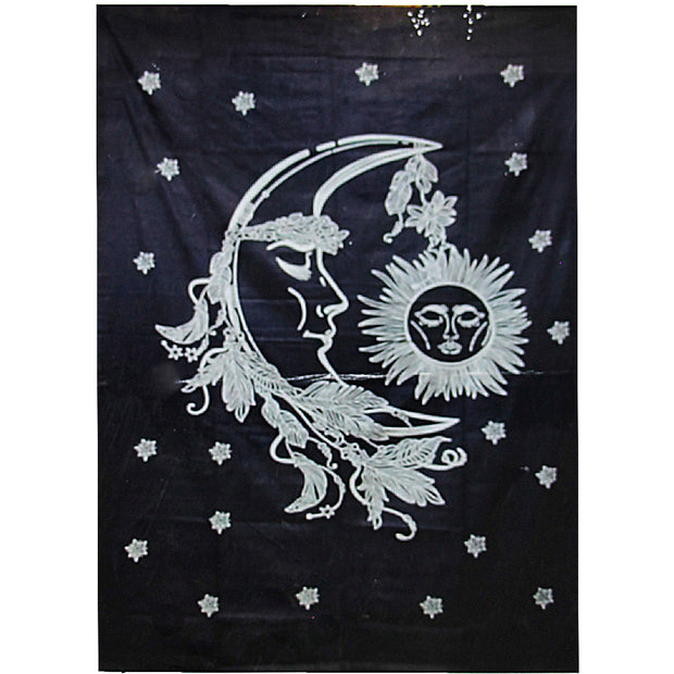 Man in the Moon Cotton Bed Sheet