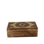 OM Mango Wood Rectangular Box
