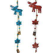 Moose Indoor/Outdoor Mango Wood Bell Chime