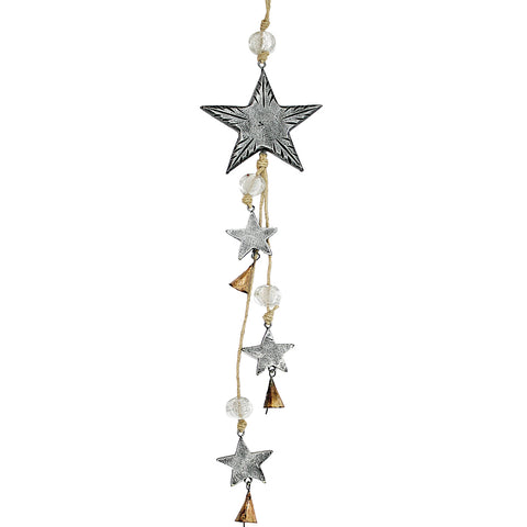 Star Indoor/Outdoor Mango Wood Chime
