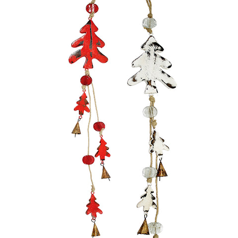 Snowman Indoor/Outdoor Mango Wood Chime