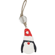 Penguin Indoor/Outdoor Mango Wood Ornament